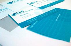 Restyling logo en ontwerpen van nieuwe huisstijl voor CLR.