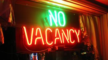 No vacancy s